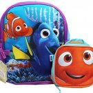 Finding Dory and Nemo 12 Toddler Backpack With Lunch Bag