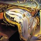 Salvador Dali Montre Molles (Soft Watch Explosion) Surrealist Art Poster Print