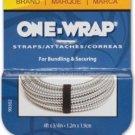 Velcro Brand One-Wrap Straps 4ft X 3/4in - Black