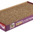 SmartyKat Super Scratcher+ Cat Scratcher Extra Large Corrugated Catnip Scratcher