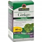 Nature's Answer Ginkgo Leaf Extract - 60 Vegetarian Capsules