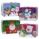 Christmas Mini Tin 'Lunch Boxes' with Handles