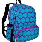 Wildkin Big Dot Aqua Megapak Backpack