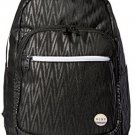 Roxy Junior's Grand Thoughts Polyester Backpack, Black Chevron, One Size
