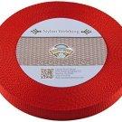 Country Brook Design® 3/4 Inch Red Nylon Heavy Webbing, 10 Yards
