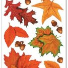 Fall Leaf Clings Party Accessory (1 Count) (10/Sh)