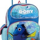 Disney Pixar Finding Dory 16 Large Rolling Backpack