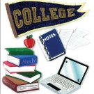Jolee's Boutique Dimensional Stickers, College