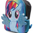 My Little Pony Rainbow Dash Large 16 Inch Backpack