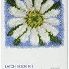 Wonderart Daisy Latch Hook Kit, 12 X 12