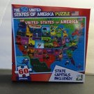 The 50 United States Of America Jigsaw Puzzle