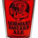 Arrogant Bastard Ale Pint Glass