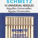 SCHMETZ Universal (130/705 H) Household Sewing Machine Needles - Carded - - 10