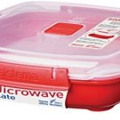 Sistema Microwave Cookware Medium Plate, 29.7 Ounce/ 3.7 Cup, Assorted Colors