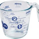 Pyrex 2 Cup Anniversary Measuring Cup - BLUE