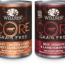 Wellness CORE Grain Free Natural Wet Dog Food, Best Sellers Variety Pack, Can