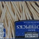 Daily Chef Food Service Round Toothpicks - 4/800ct