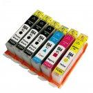 6PK 564 XL Ink Cartridge for HP Deskjet 3520 Photosmart Plus-B209A B210A/B/C/D/E