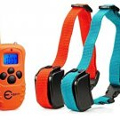 Esky Rechargeable LCD Remote Dog Training Collar With Beep/Vibration/Shock For