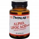 Twinlab Alpha Lipoic Acid - 100 mg - 60 Capsules