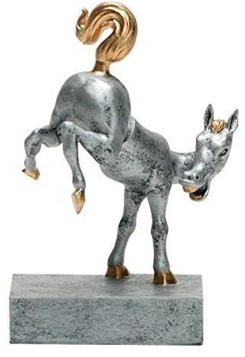 Horse's Rear Bobblehead Award