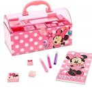 New With Tags Disney Store Minnie Mouse Creativity Stamp Set