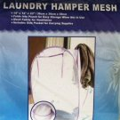 Laundry mesh pop up hampers
