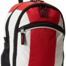 Everest Deluxe Small Backpack, Red, One Size