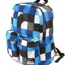 Alpine Swiss Major School Bag Backpack Bookbag 1 Year Warranty Blue