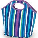 Picnic Plus Zesty Lunch Bag Lavender Stripe 12 X 4.5 X 12 - Picnic Plus