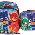Disney Junior PJ Masks Backpack and Lunch Box Set