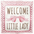 Welcome Little Lady Helium Foil Balloon - 18 Inch