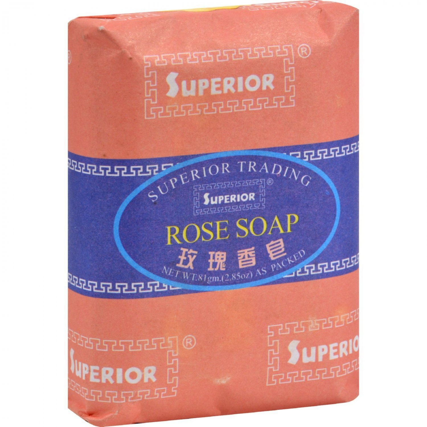 Superior Bee and Flower Rose Soap - 2.85 oz