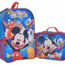 Mickey Mouse Clubhouse Fun Backpack With Lunchbox - Blue/multi, One Size