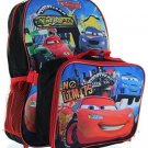 Disney Pixar Cars 15 Backpack With Lunch Bag