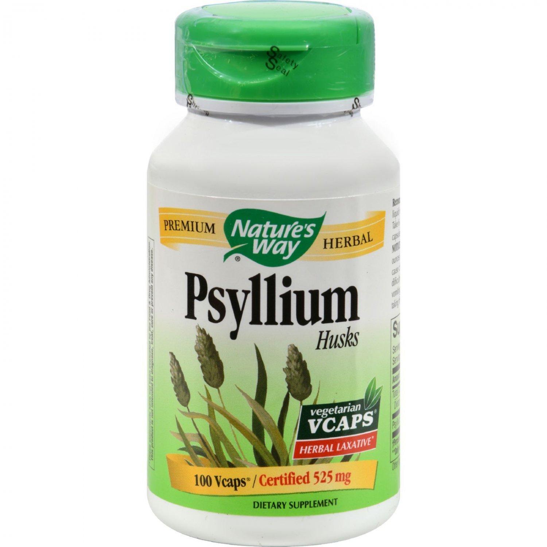 Nature's Way Psyllium Husk - 525 mg - 100 Vcaps