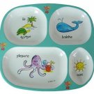 Baby Cie TV Tray - Ocean Animals - Aqua