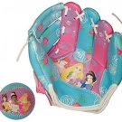 Franklin Sports Disney Princess 9-Inch Air Tech Glove And Ball Set