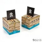 Pirate Ship Party Favor Boxes - 12 Ct