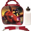 New 2014 Hit Movie Disney Big Hero 6 Baymax Hero Lunch Box Bag w/ Shoulder Strap