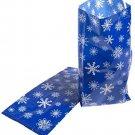 Snowflake Cellophane Bags 12 Pack