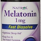 Natrol Melatonin 1mg Fast Dissolve Tablets, Strawberry, 90-Count