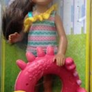 Barbie Tamika With Swim Ring By Mattel