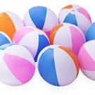 10 Beach Balls Inflates - Approx. 16 (Inch)