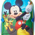 Disney Little Boys Mickey Mouse Backpack With Lunch Kit, Blue, One Size