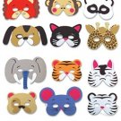 Rhode Island Novelty 12 Assorted Foam Animal Masks For Birthday Party Favors