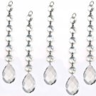 Magnificent Ornament Diamond Hanging Crystal Garland Wedding Strand With Almond