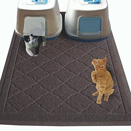 Non Toxic Jumbo Size Cat Litter Mat 47 X 36 In Extra