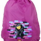 LEGO Cinch Sack - Movie Wyldstyle, Pink, One Size