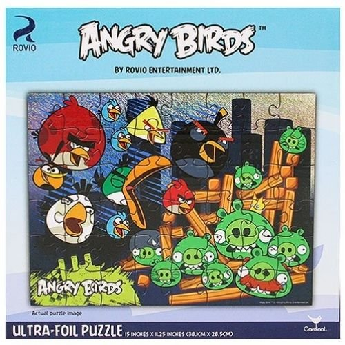 Angry Birds Ultra-Foil Puzzle [48 Pieces]